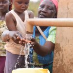 The Water Project: Katuluni Community -  Working Well