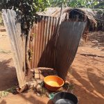 The Water Project: Nyakasenyi Byebega Community -  Bath Shelter