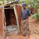 The Water Project: Nyakasenyi Byebega Community -  Bathing Shelter