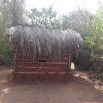 The Water Project: Nyakasenyi Byebega Community -  Latrine And Handwashing Station