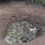 The Water Project: Nyakasenyi Byebega Community -  Waste Pit