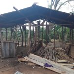 The Water Project: Nyakasenyi Byebega Community -  Wood Storage And Coop