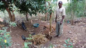 The Water Project:  Busingye At His Refuse Pit