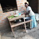 The Water Project: Kimigi Kyamatama Community -  Dish Drying Rack