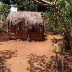 The Water Project: Kimigi Kyamatama Community -  Latrine