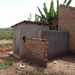 The Water Project: Kimigi Kyamatama Community -  Latrine And Bathing Shelter