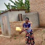 The Water Project: Kimigi Kyamatama Community -  Latrine And Handwashing Station
