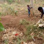 The Water Project: Kimigi Kyamatama Community -  Throwing Away Trash