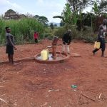 The Water Project: Kikube Nyabubale Community -  At Alternative Well