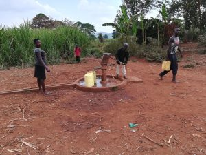 The Water Project:  At Alternative Well