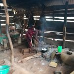 The Water Project: Kikube Nyabubale Community -  Cooking In Kitchen