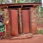 The Water Project: Kikube Nyabubale Community -  Latrines And Handwashing Station