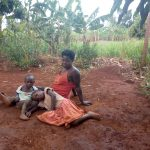 The Water Project: Kikube Nyabubale Community -  Nasaka Sarah And Her Children