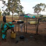 The Water Project: Rubana Yagilewo Community -  Dish Drying Rack