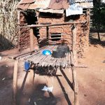 The Water Project: Rubana Yagilewo Community -  Dishes Drying