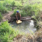 The Water Project: Rubana Yagilewo Community -  Fetching Water