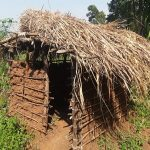 The Water Project: Rubana Yagilewo Community -  Latrine
