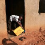 The Water Project: Rubana Yagilewo Community -  Water Storage Container