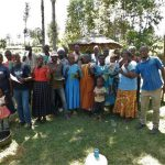 The Water Project: Mukangu Community, Lihungu Spring -  Group Picture
