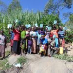 The Water Project: Bukhaywa Community, Asumani Spring -  Group Picture