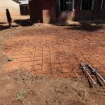 The Water Project: Irobo Primary School -  Tank Foundation