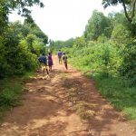 The Water Project: Chiliva Primary School -  Carrying Water