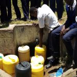 The Water Project: Gimariani Secondary School -  Community Spring