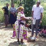 The Water Project: Lukova Community, Wasike Spring -  Handwashing Training