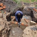 The Water Project: Emulakha Community, Nalianya Spring -  Spring Construction