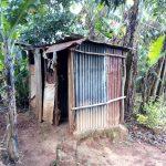 The Water Project: Jivuye Community, Wasiva Spring -  Latrines