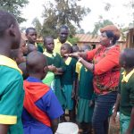 The Water Project: Majengo Primary School -  Handwashing Training