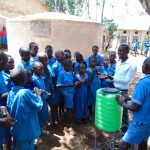 The Water Project: Kegoye Primary School -  Handwashing Training