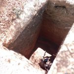 The Water Project: Namasanda Secondary School -  Sinking The Pit For Latrines