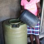 The Water Project: Gimariani Secondary School -  Water Storage In School Kitchen