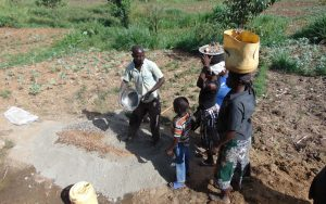 The Water Project:  Delivering Stones To The Artisan