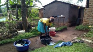 The Water Project:  Doing Laundry With Spring Water