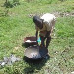 The Water Project: Lusiola Community, Ifetha Spring -  Doing Laundry