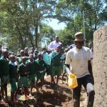 The Water Project: Bojonge Primary School -  Training On Tank Care