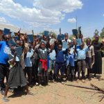 The Water Project: Namakoye Primary School -  New Ctc Club Poses For A Picture