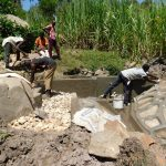 The Water Project: Bukhaywa Community, Asumani Spring -  Spring Construction
