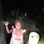 The Water Project: Sasala Community, Kasit Spring -  Little Girl Inside Kitchen