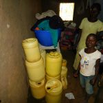 The Water Project: Ebutindi Community, Tondolo Spring -  Water Containers