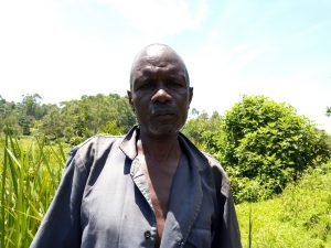 The Water Project:  Joseph Madegwa