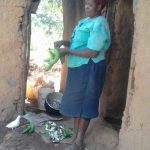 The Water Project: Lusiola Community, Ifetha Spring -  Working Outside The Kitchen