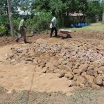 The Water Project: Musango Mixed Secondary School -  Tank Foundation