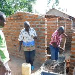 The Water Project: Namasanda Secondary School -  Latrine Construction
