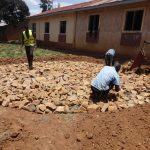 The Water Project: Shibinga Primary School -  Tank Foundation Construction