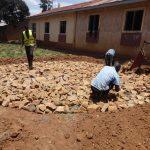 The Water Project: Shibinga Primary School -  Tank Foundation Construction