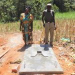The Water Project: Ilala Community, Arnold Johnny Spring -  Sanitation Platform