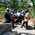 The Water Project: Mukangu Community, Lihungu Spring -  Spring Care Training